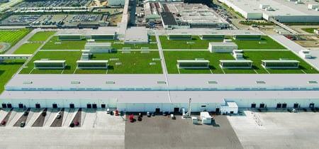 Ford Motor Company River Rouge Plant - clayton rugh, 2008 greenroofs calendar, xero flor america, green roofs, william mcdonough and partners