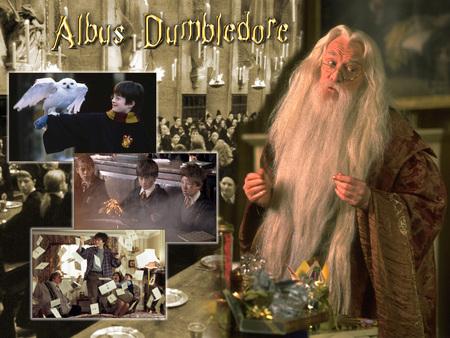 Harry Potter Albus Dumbledore Movies Entertainment Background