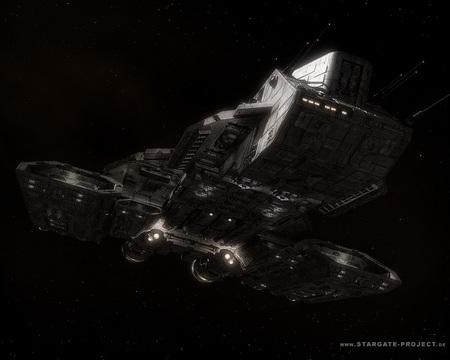 Stargate SG 1  /  Daedalus - movie, stargate, mgm, daedalus, sci fi, stargate continuum