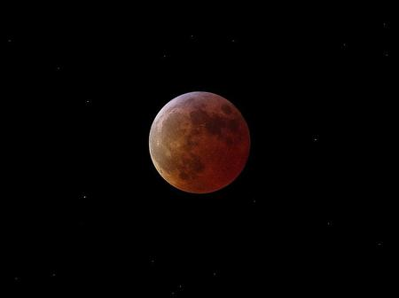 NEW BLOOD MOON - the red moon, the new moon