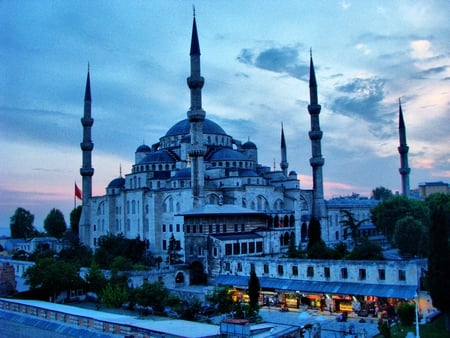 The Blue Mosque IstanbulTurkey