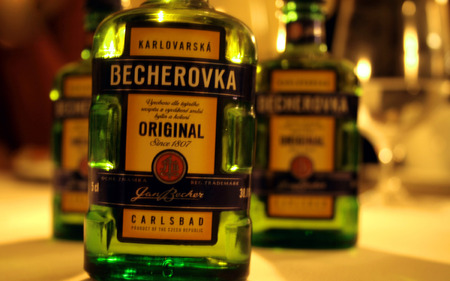 Becherovka - alcohol, czech republic, herbs, becherovka, vodka