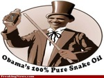 obama snake oil salesman