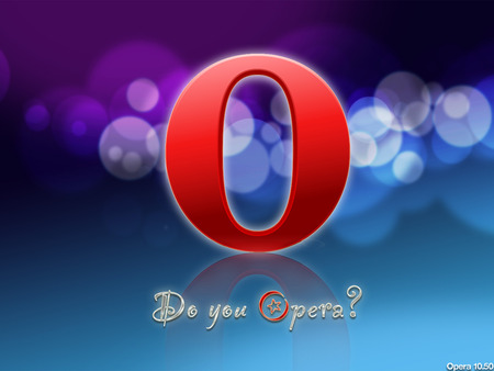 Do you Opera - purple, bubbles, o, you, do, opera, blue
