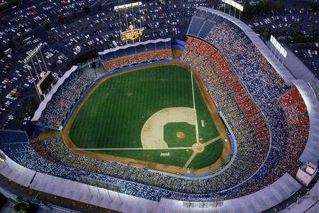 Dodger Stadium - sports, stadium, baseball, dodger