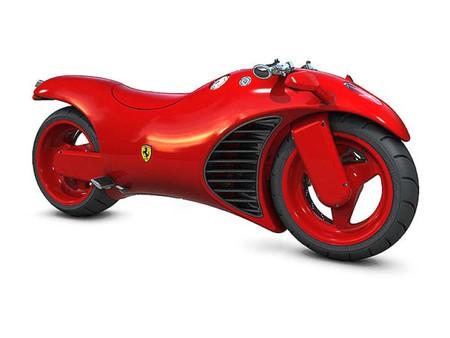 ferrari motorbike concept - cool, motorbike, concept, picture, ferrari
