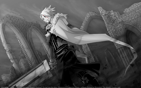 allen walker d.gray man - gray, walker, allen, man, d