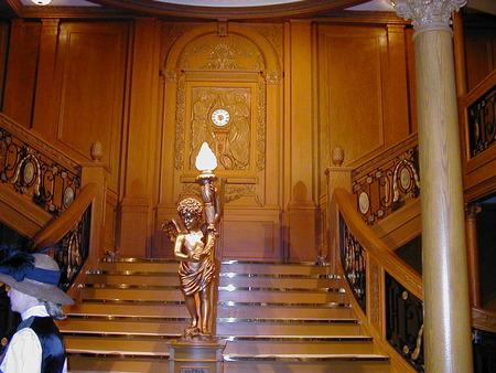 Titanic Grand Staircase - grand, titanic, staircase