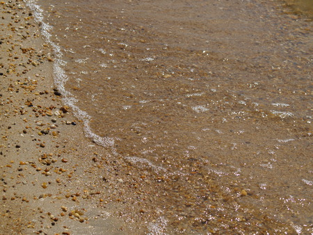 Tide Rolls In and Out Again - beach, tide, sand, water, serenity, summer, solace