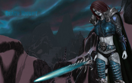 Death Knight - warcraft, lich, dead, world of warcraft, arthas, wow