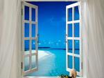 Window in paradise