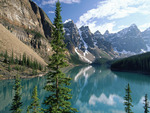 Moraine Lake view