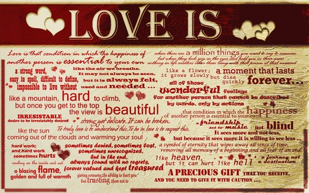 LOVE - love, meanings, people