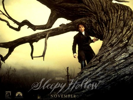 Tim Burton's: Sleepy hollow - fiction, horor, hollywood, sleepy hollow, paramount pictures, tim burton, american, fantasy, johnny depp, movies