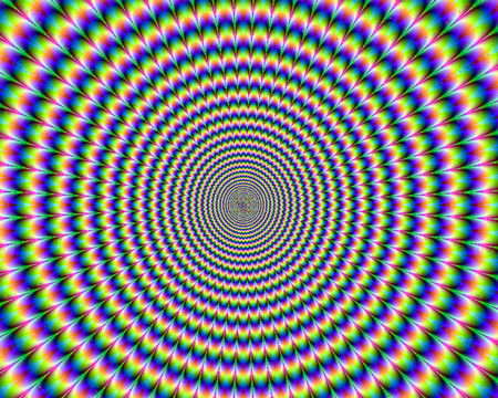 Hypnotic - hypnotic, crazy, psychedelic, colorful, tripin, rainbow, mind teasers, trip, digital