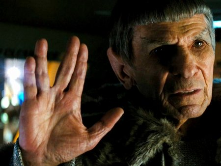 Star Trek  - spock, space, movie, cinema, time travel, vulcan, movies, startrek, adventure