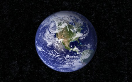 The blue Marble (WDS) - planets, widescreen, wds, earth, lost
