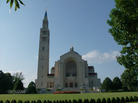 The Basilica Of The Immaculate Conception Religious Architecture