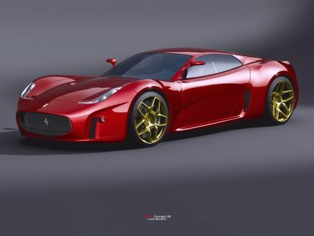 2008 Ferrari Concept Car - Ferrari & Cars Background Wallpapers on