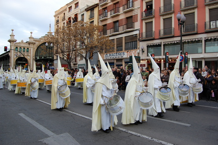 Easter Procession-Spain - pasos, brotherhood, christian, cofrades, religious, easter, spain, holy week, catholic
