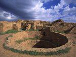Pueblo Indian Dwellings Built Around 1200-A.D. Mesa Verde National Park