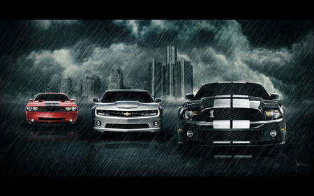 Muscle Cars Ford Cars Background Wallpapers On Desktop Nexus