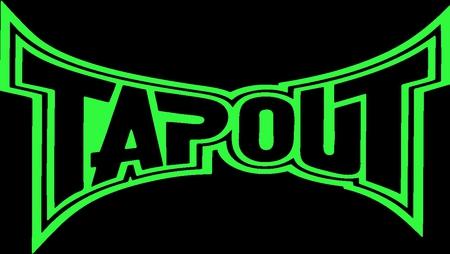 tapout logo green martial arts sports background wallpapers on rh sports desktopnexus com tapout logos tapout pics logos