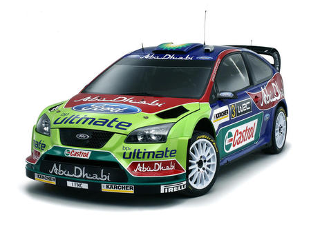 ford focus rs wrc 2008 - cars, ford, wrc