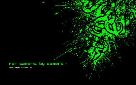 razer green logo hd photography abstract background wallpapers