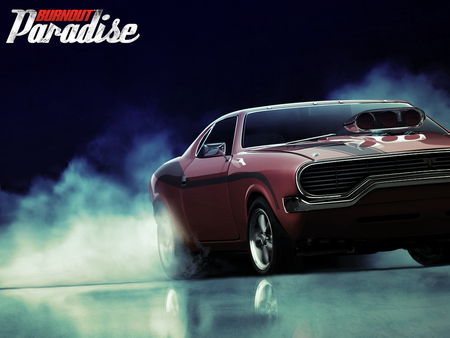 Muscle Car Burnout Other Cars Background Wallpapers On