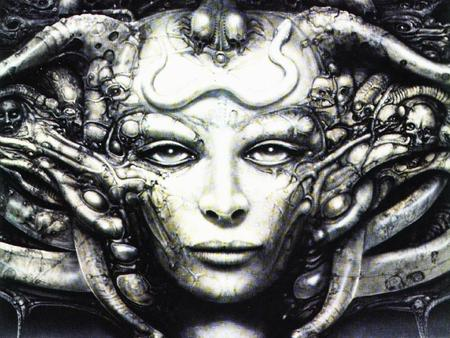 Giger - sci-fi, dark, fantasy, darkness, giger, space