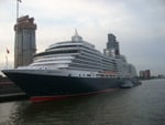 queen Victoria at Rotterdam ,the netherlands