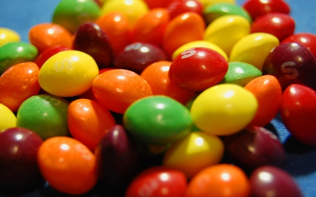 Skittles - candy, colors, rainbow, taste
