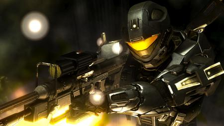 halo 3 Sniper Lowk - sniper, light, 3, halo, recon