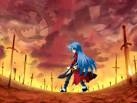 Lucky star UBW ;) - unlimited blade works, lucky star