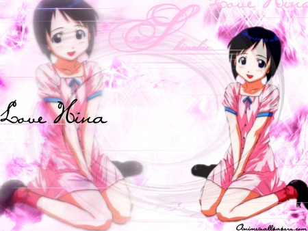 pink student uniform,Love Hina - love hina, pink student uniform