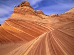 Striations in the Sandstone, Paria Canyon, Arizona