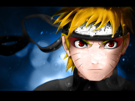 Naruto Sage red