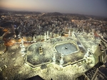 The holy place for Muslims (Macca)