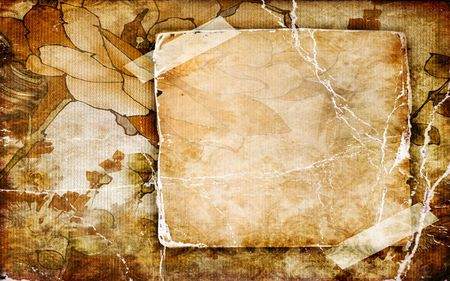 Papyrus Frame 3d And Cg Abstract Background Wallpapers On