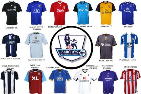 cdb0c62db English Premier Leauge 2009 Jerseys - soccer, football, barclays premier  leauge, english premier