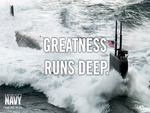 United States Navy - Greatness Runs Deep
