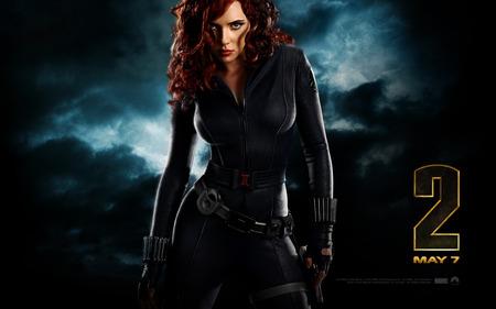 Iron Man 2 - Black Widow - iron man, black widow