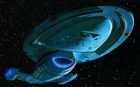 Ussvoyager Tv Series Entertainment Background