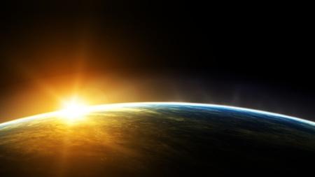 Bright Horizon (Earth) - horizon, bright, earth