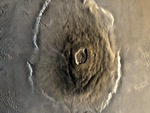olympus mons satellite picture