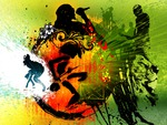Papel de Parede - Reggae