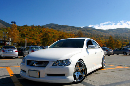 Toyota Mark X   Car, Nice, White