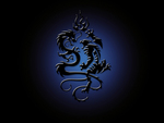 Black and Blue Dragons
