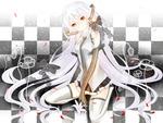 Miku Hatsune in white by Request